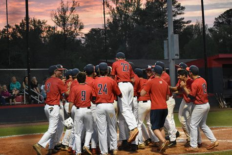 Successful Senior Night for Bob Jones Baseball