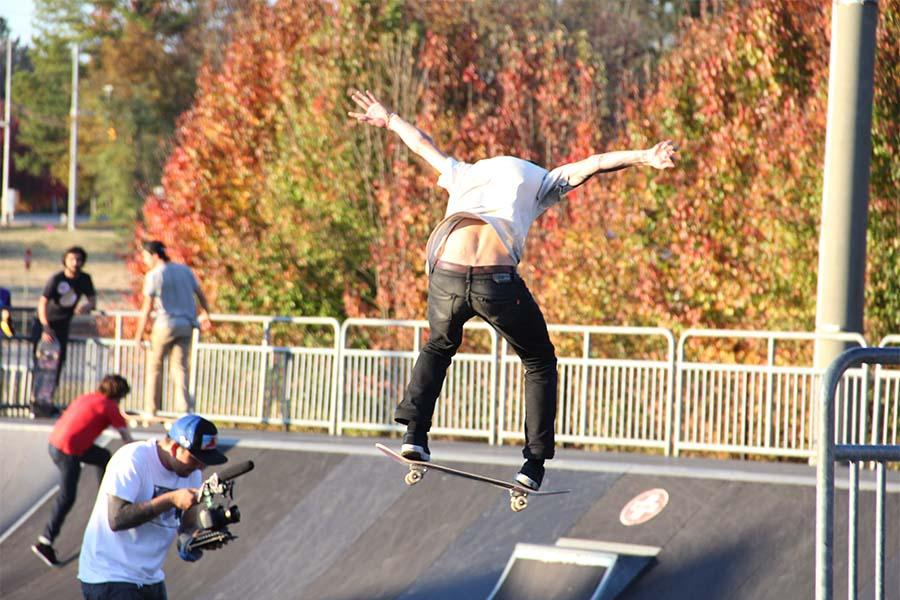 Pro Skater Collin Provost from Toy Machine, Emerica, Thunder, Spitfire, Bro Style and Active.