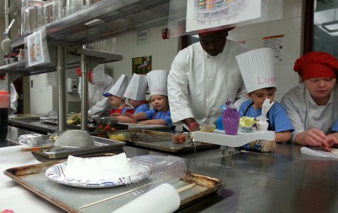 It's Never Too Early to Learn to Cook