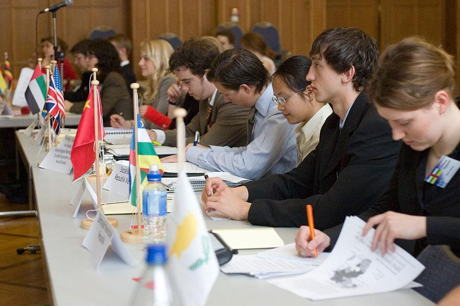 Students+at+a+Model+UN+conference+in+Germany