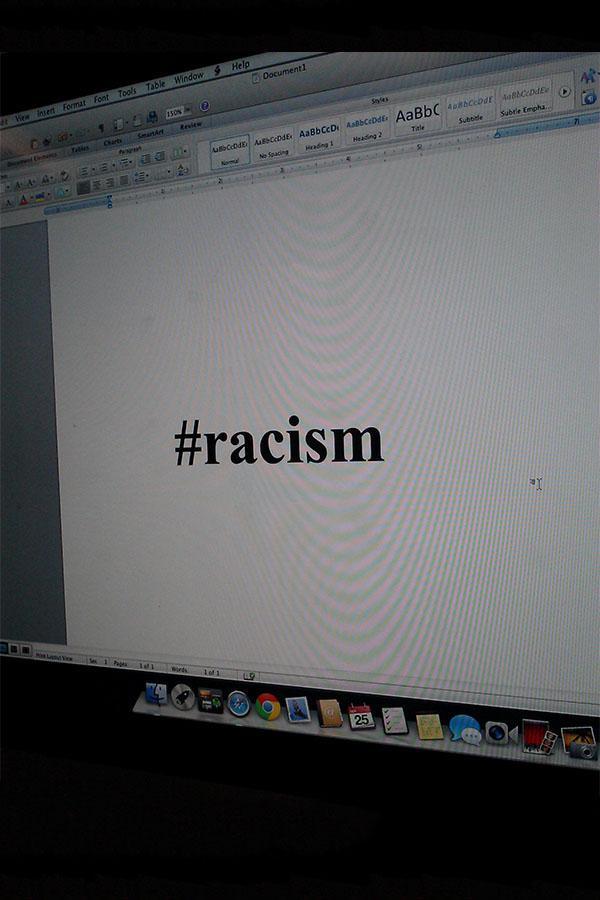 Racism runs rampant on Twitter.
