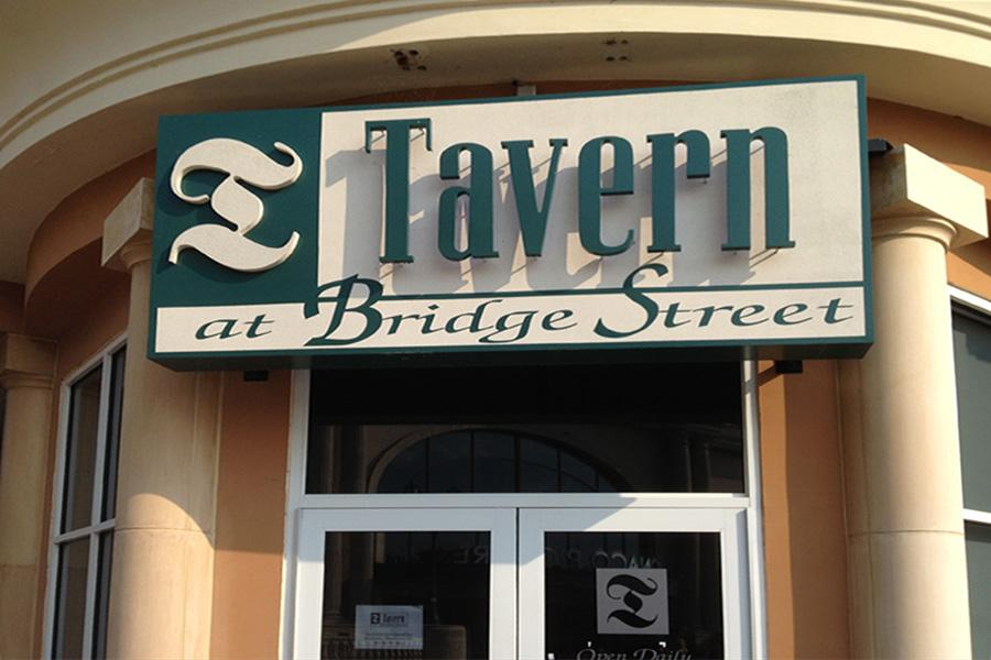 The Tavern at Bridge Street closed its doors on Tuesday, September 3, 2013.
