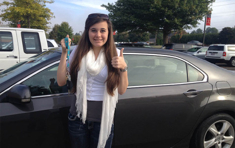 Kelsey Huber is among those who made the pledge to safe driving.