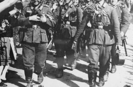 The Wehrmacht marching into the Sudetenland.