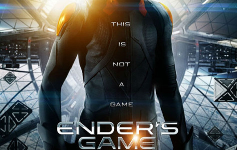 The official movie poster for Ender's Game.