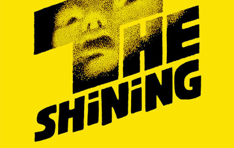 The original 1980 movie poster for The Shining.