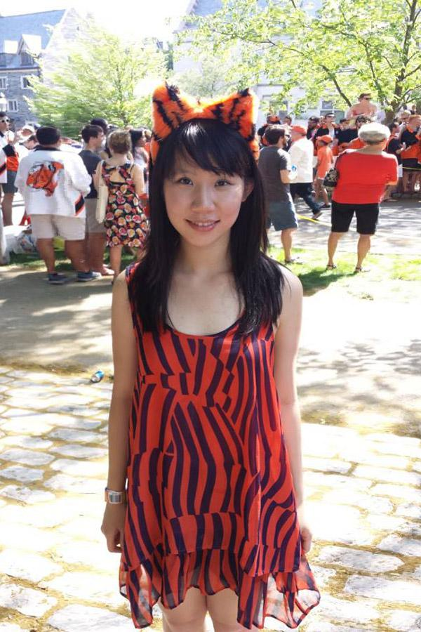 Emily Wu at a Princeton reunion.