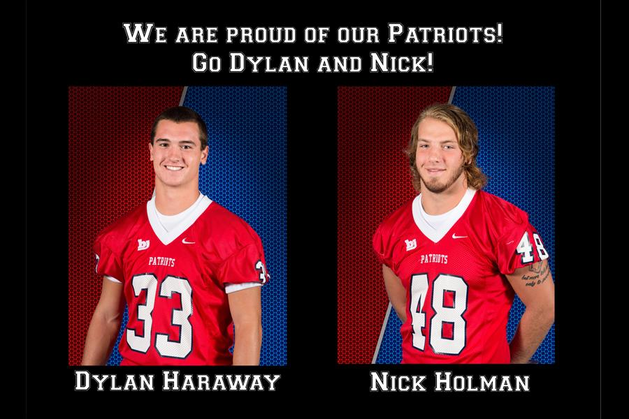 Left to Right: Dylan Haraway and Nick Holman