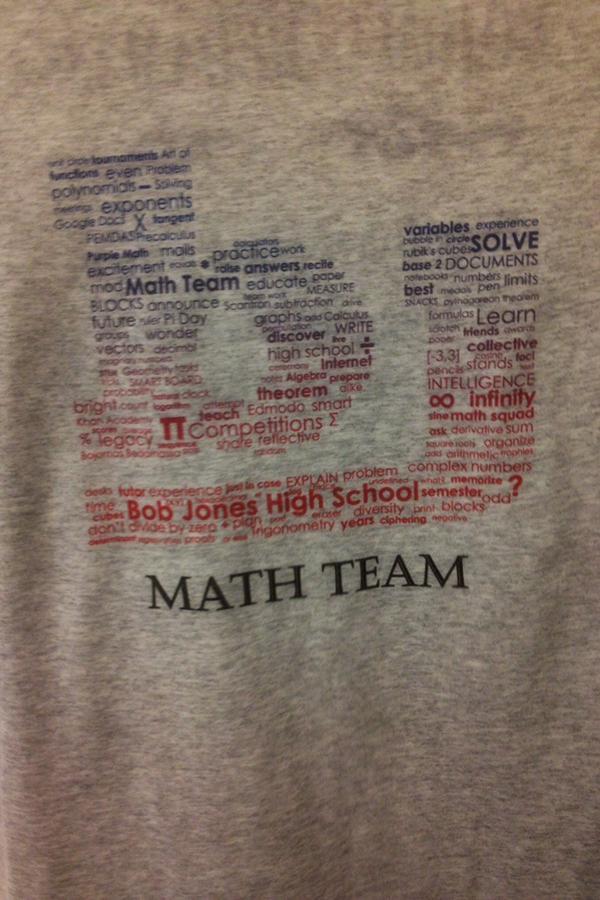 Bob+Jones+Math+Team+T-shirt.