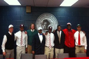 Left to Right: Dylan Haraway, Roderick Randolph, Nick Holman, Brandon Davis, Jay Rogers, Kenneth Turney, Julien Lewis, and David Norris.