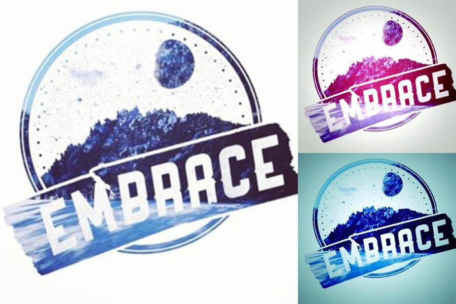 The logo for Embrace Supply Company designed by Stephen Noble and edited by Kennedy Booker.