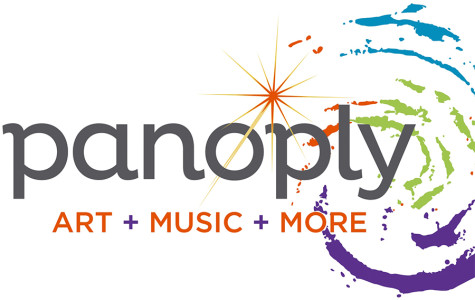 Panoply's logo and motto