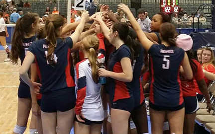 Volleyball Taking over Class 7A