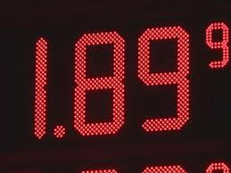 Price of gas around Madison, Alabama.