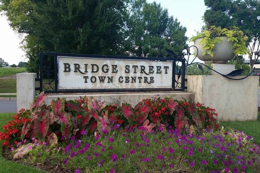The Bridge Street Town Center Sign