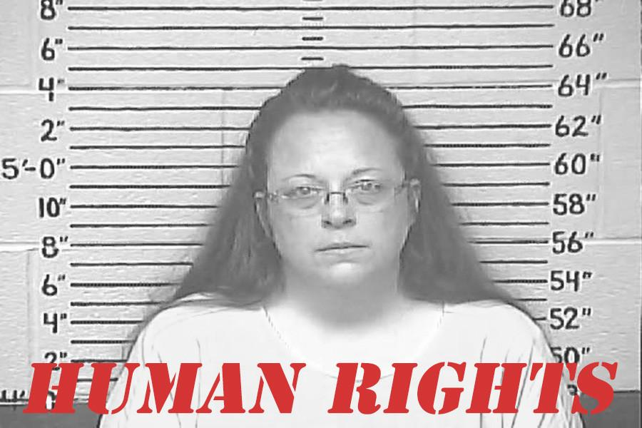 Kim Davis: Who's Got More Human Right?