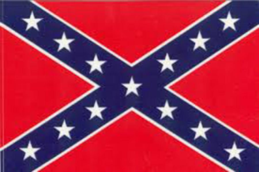 confederate flag sewn with racism patriot pages
