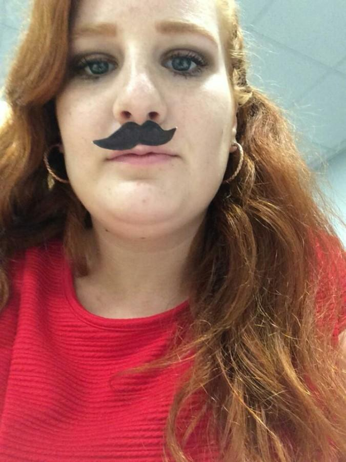 Elizabeth (Anne-Marie) Yerby participating in mustace day.