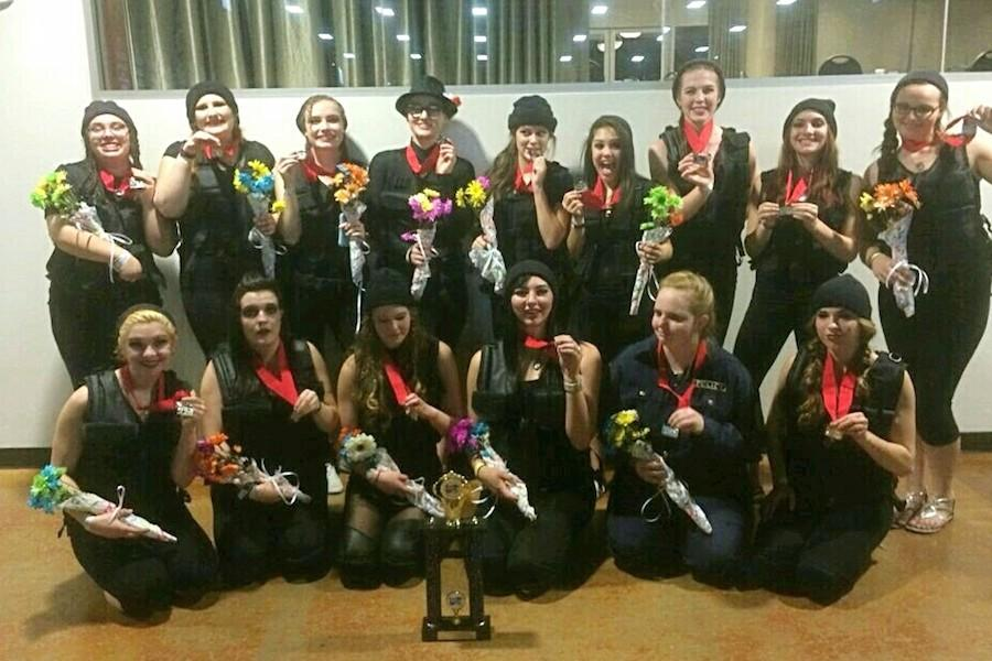 Winterguard Steals Second Place at Championships