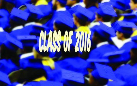 Seniors will graduate on May 23, 2016.