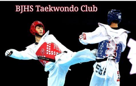 BJHS Taekwondo Club Kicking It