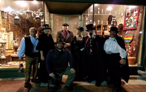 Huntsville Ghost Walks very own tour guides ready for another great night of storytelling!!