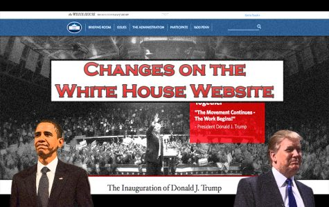 Changes on the White House Website