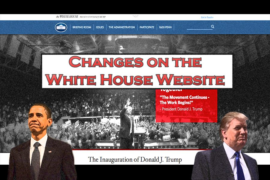 Changes+on+the+White+House+Website