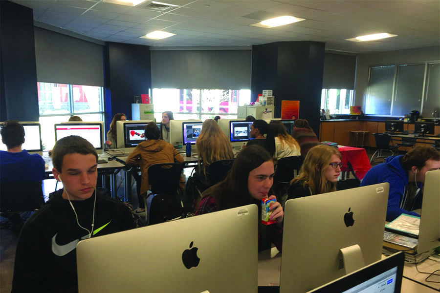 Multimedia Publications is an excellent elective to take; however, Creative Writing or Multimedia Design are prerequisites. They're both really fun too.
