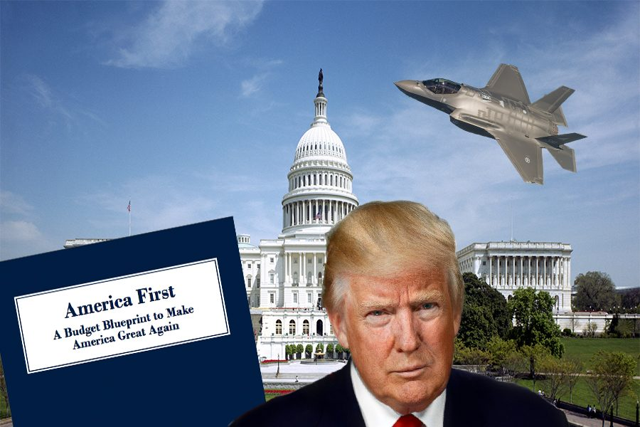 The+%22America+First%22+Budget%3A+Cuts%2C+Increases%2C+and+a+Wall