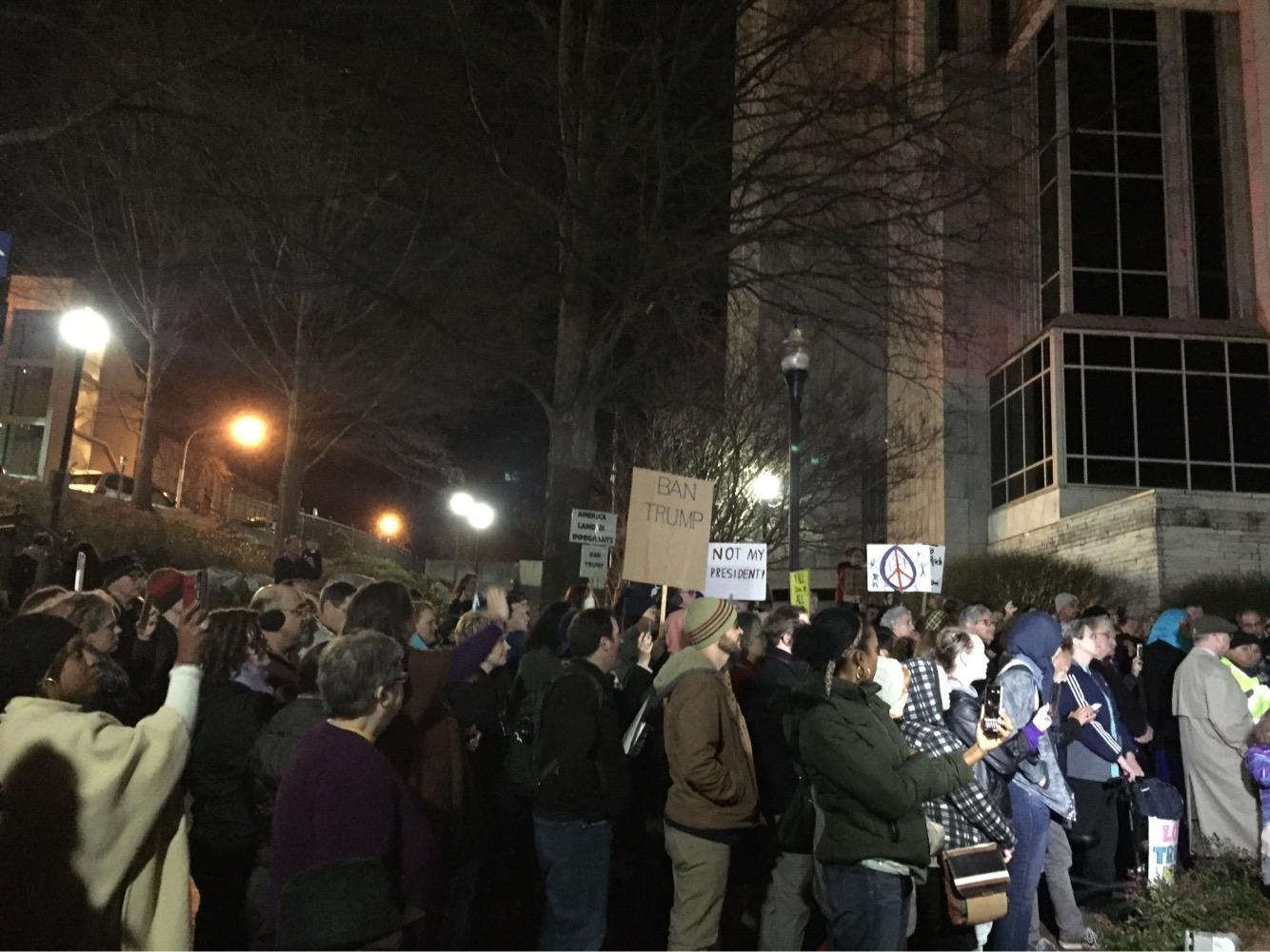 Prayer vigil at Big Spring Park