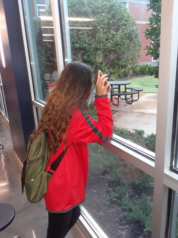 local freshman looking outside to the world beyond