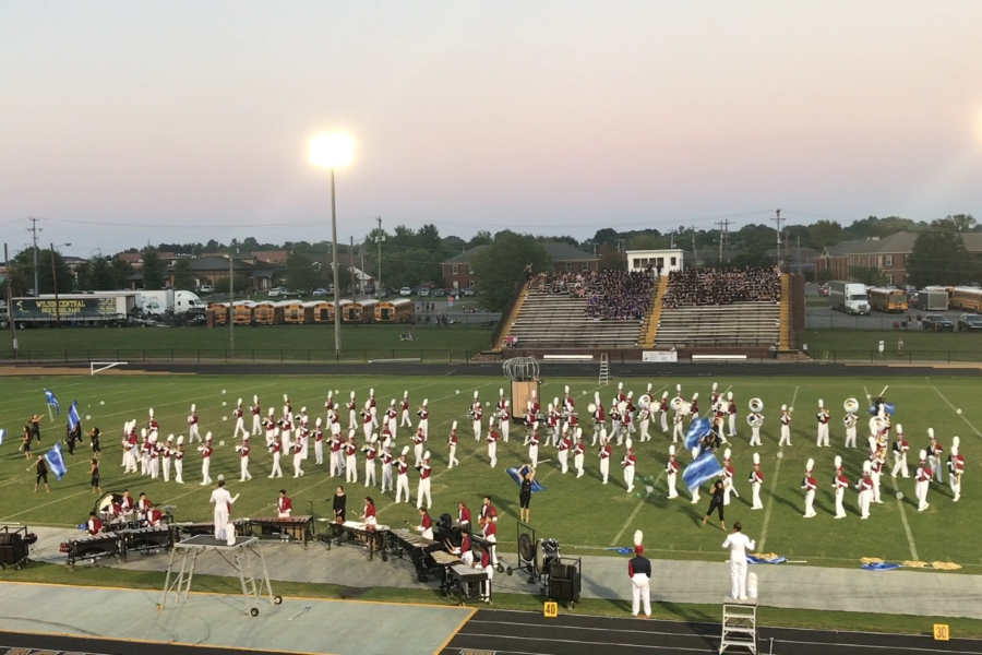 Bob+Jones+HS+Competition+Band+during+performance+at+Hendersonville+High+School+%282017%29.