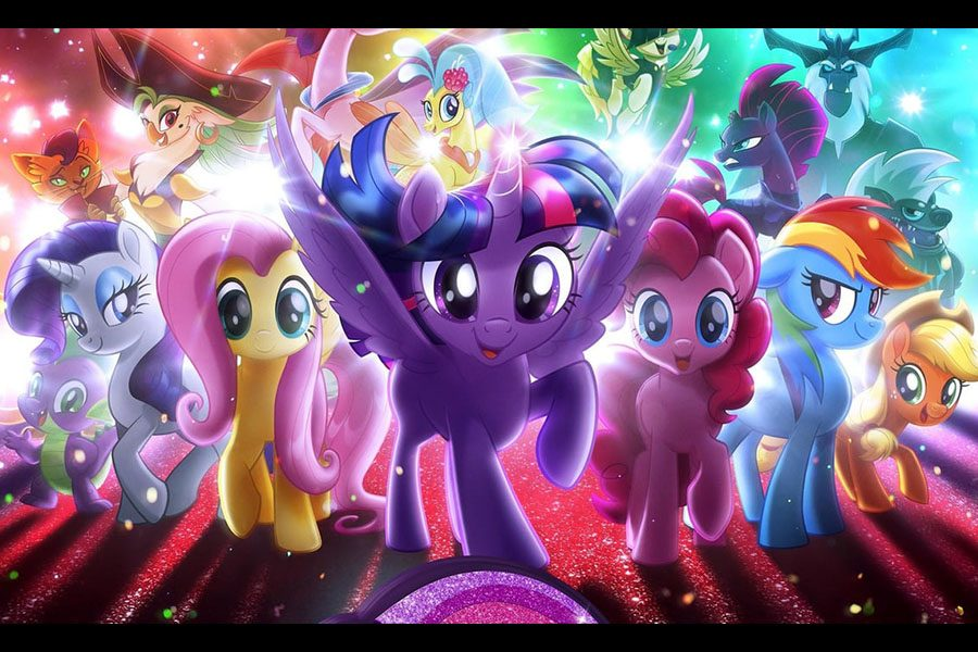 The+Mane+6+and+crew+prepare+to+save+the+world+with+friendship+and+bright+colors.