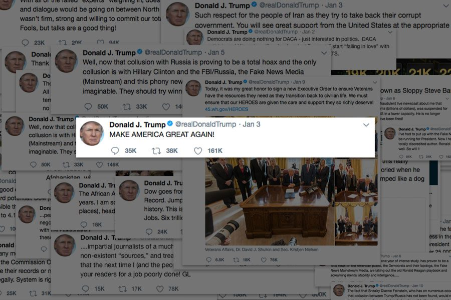 Tweets from Donald Trump (@realDonaldTrump / Twitter)