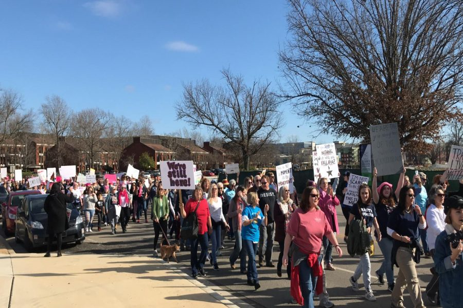 Huntsville's Women's March: #PowerToThePolls