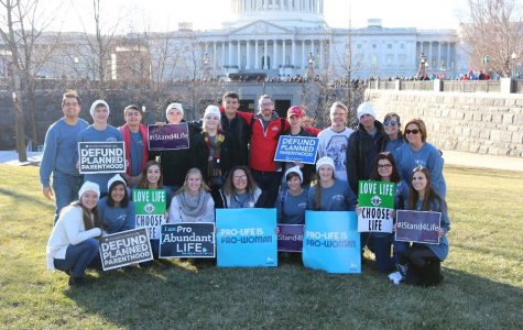 Students Travel to the 45th Annual March for Life