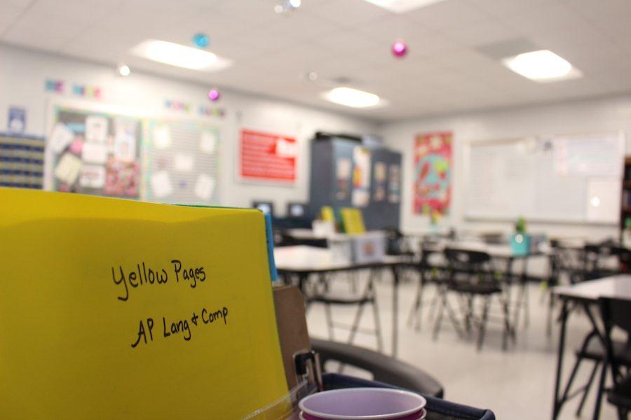 Bob Jones English Teacher, Micky Worley, uses a unique classroom setup to enhance student learning.