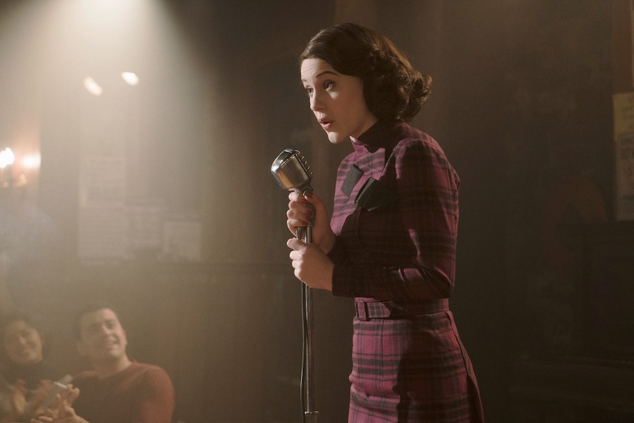 Rachel Brosnahan as Midge Maisel in Amazon Prime's hit series.