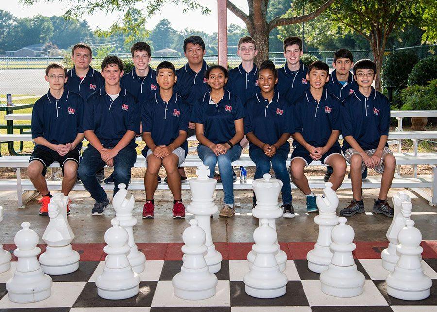Bob Jones Chess Club - Photograph courtesy of Ranae Bartlett