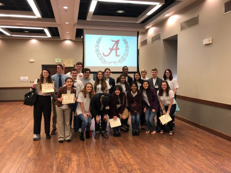 All+20+Bob+Jones+student+and+a+James+Clemens+student+who+participated+in+ALMUN+X.+