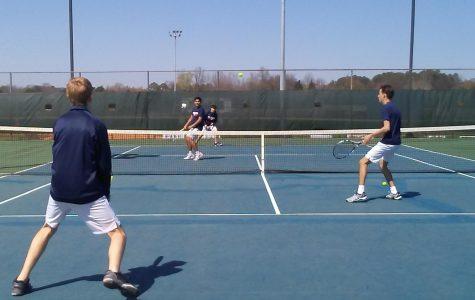 Bob Jones Tennis Team
