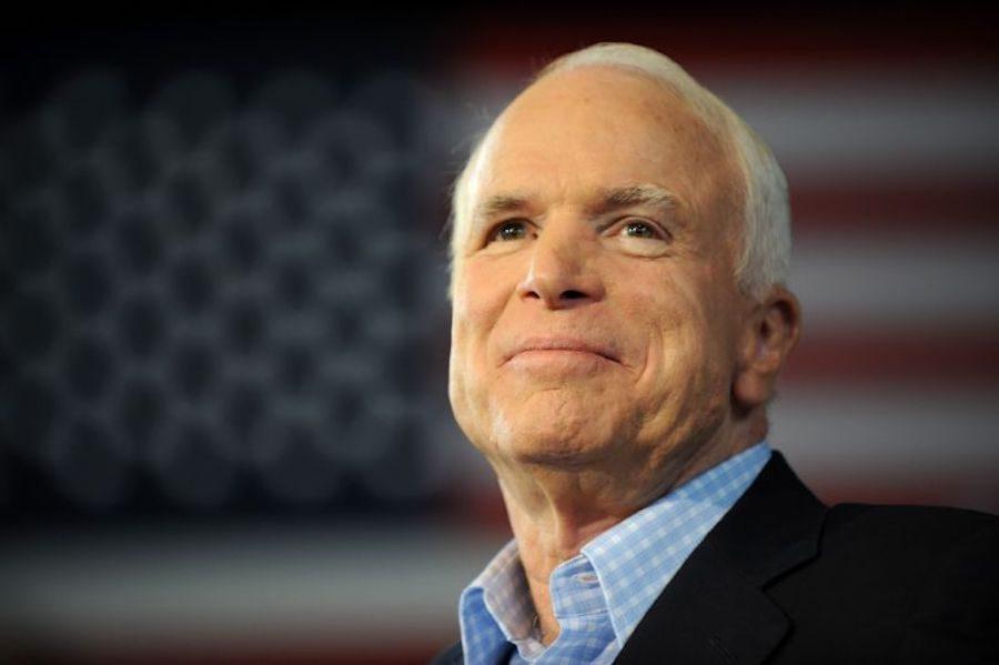 Former+Senator+John+McCain.+