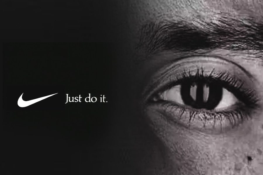 An+image+from+Kaepernick%27s+%22Just+Do+It%22+campaign+with+Nike.+