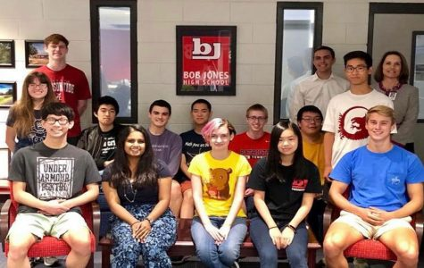 Bob Jones Celebrates National Merit Semi-finalists