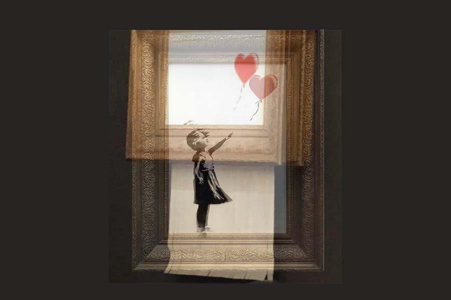 Banksy%3A+Shredded+Art