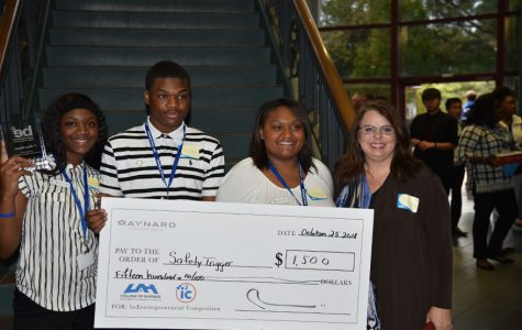 Bob Jones Takes 1st Place in First Local beEntreprenurial Competition