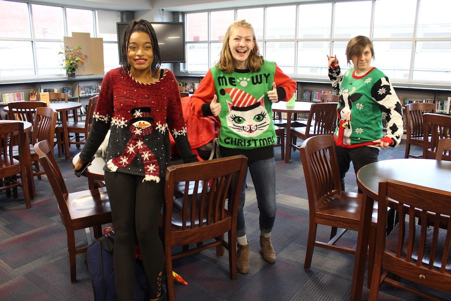 SGA's Ugly Christmas Sweater Contest