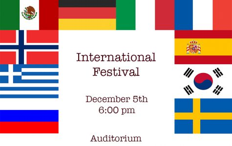 Come to the International Festival!