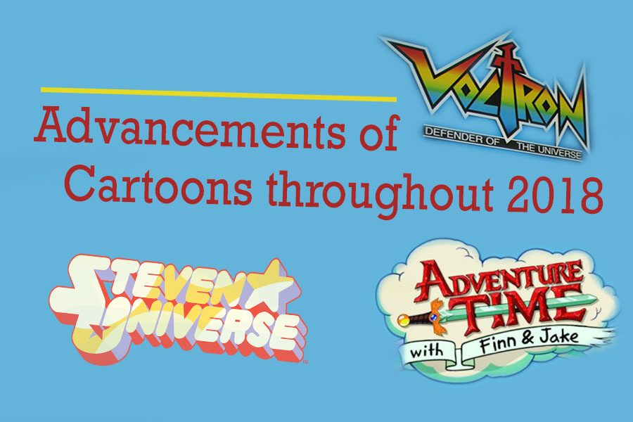 2018 was a strong year for animated TV shows like Steven Universe, Voltron, and Adventure Time.